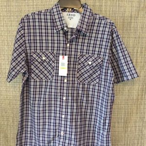 Men's short sleeve dress shirt